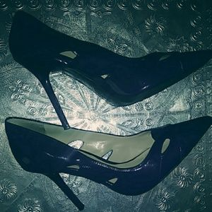 Guess Navy Blue Stiletto Pumps